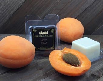 Apricot Burst Soy Wax Melts, Wax Melts, Soy Wax Melts, Soy Wax Tart, Soy Candle Melts, Wax Warmer, Scented Soy Tart Sample