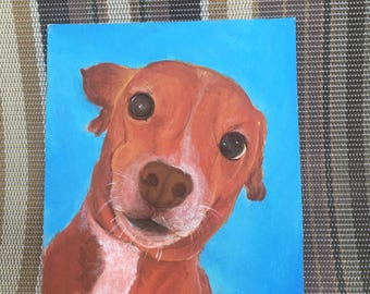 Custom Pet Portrait custom dog portrait