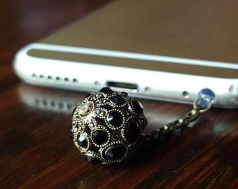 Luxury Swarovski Crystal Ball Phone charm