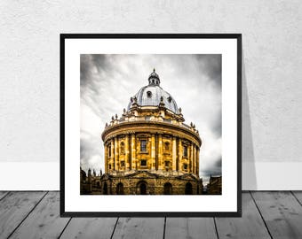 Oxford Art Print, Oxford Photography, Radcliffe Camera, Oxford University, Colour Photography, Home Décor, Graduation Gift, Giclee Print
