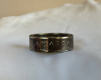 Jamaica 20 Cent (1998) Coin Ring