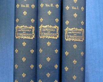The Memoirs of Monsieur d'Artagnan by de Sandraz - First UK edition