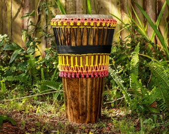 Ashiko Hand Drum African Sunset