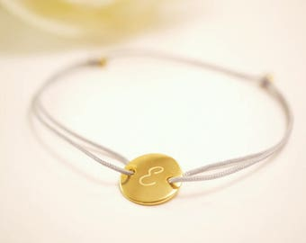 Bracelet ~ request letter ~ gold