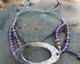 A Metal Spacer Bracelet