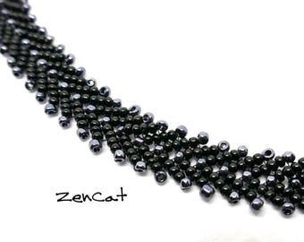 Black Flat bracelet