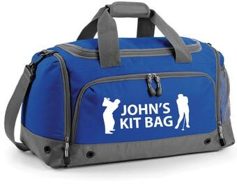 iLeisure High Golfing Holdall with your Name/Club Holdall Printed Kit Bag.