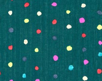 Nani Iro Japanese Fabric Kokka Colorful Pocho Double Gauze - opera - 50cm