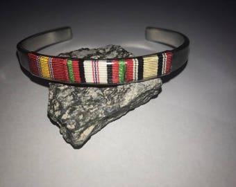 Afghanistan, Iraq, Veteran, patriot, Cuff Bracelet