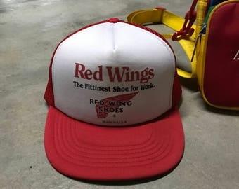 Vintage Red Wing Cap
