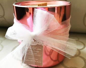 Luxurious handmade candle