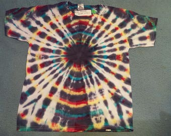 """tie dye t-shirt youth small""""baby pulsar"""""""
