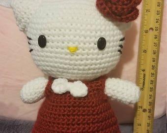 DIY Hello Kitty Crochet Handmade Supercute Amigurumi