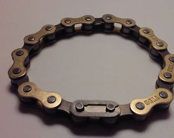 Authentic Bike Chain Bracelet, Small 8 Link