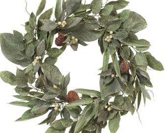 Bronte Pine wreath