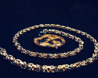Goldstone Dichotomy Byzantine Chain,