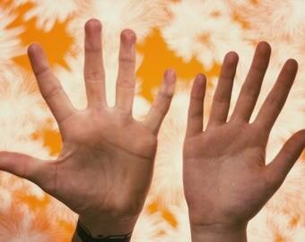 Flowers + Hands