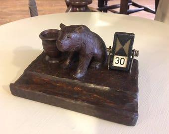 1925 Black Forest Bear Calendar
