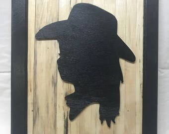 Handcrafted Little CowGirl Silhouette Picture