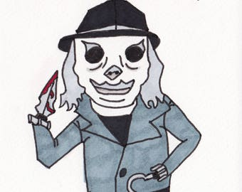 Blade (Puppet Master) - One Off Sketch Card