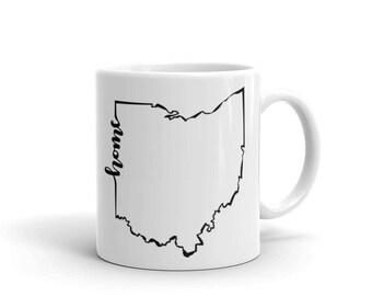 Ohio Home State - Coffee Mug