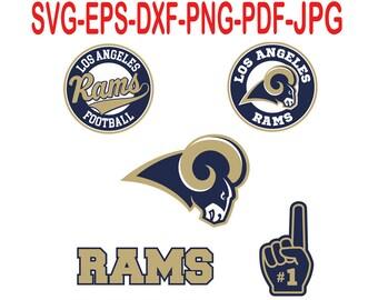 Los Angeles Rams.Svg,eps,dxf,png,png,jpg.