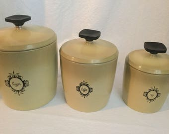 1960 canisters  west bend .