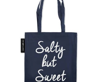 Salty but Sweet – Driftwood Tote Bag