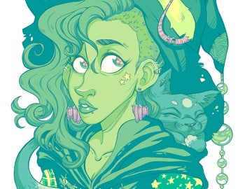 Witchy - Art Print