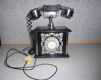 Vintage telephone of the USSR