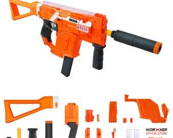 Worker MOD Kriss Vector Imitation Kit Orange Combo for Nerf Stryfe N322