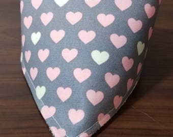 Sweetheart Baby Bandana Bib Cotton Terry Cloth Bib