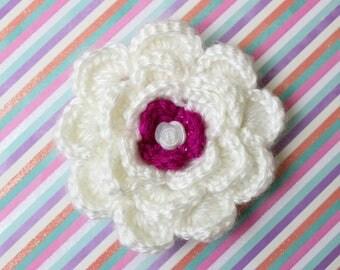 Fairy Tail Crochet Flower Accessory