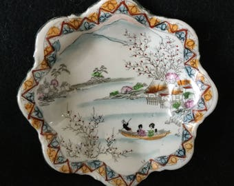 Nippon Hand Painted Porcelain Bowl