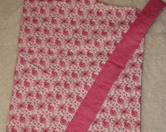 Reversible Pink Paisley