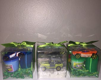 Car Toy Party Favor Box