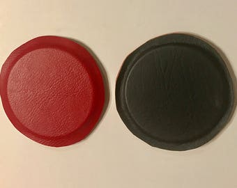 "Magnets Biomagnetism - Cover Magnets 3""X0.25"" Hard Ferrite Magnets Pack of 2."