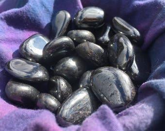 Tumbled Hematite