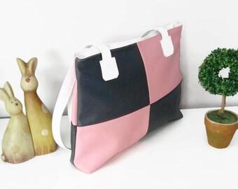 """""""Orion"""" faux leather handbag"""