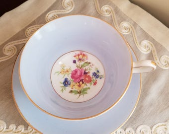Vintage Rosina Tea Cup and Saucer