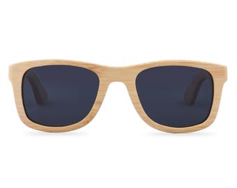 Wooden sunglasses - The Original Wayfarer - Black glasses