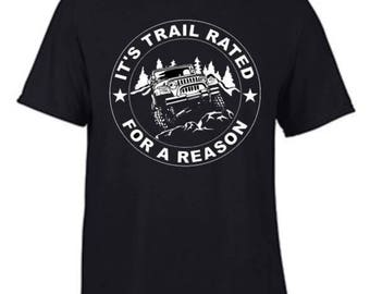 Trail Rated White Print