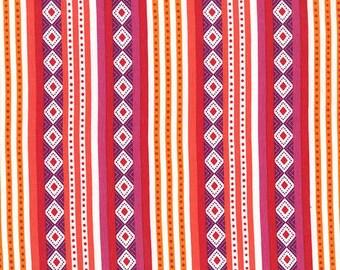 Michael Miller fabric in 'havana' stripe