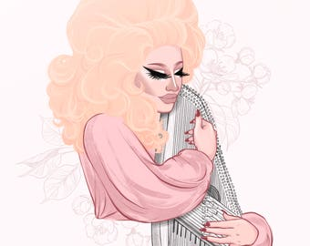Trixie Mattel, RuPaul's Drag Race, Two Birds, Drag Queen Fan Art