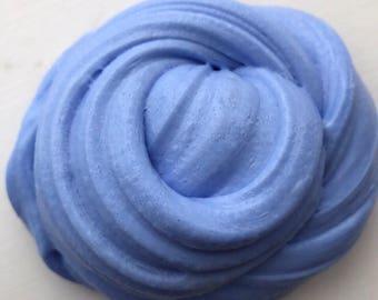 Deep sea blue fluffy slime100g in tub
