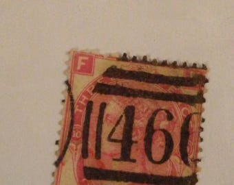 Great Britain #49 3 Pence POS FN 1867 Queen Victoria postage stap1867 BV 120.00