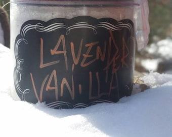 Lavender and Vanilla, Sugar Scrub