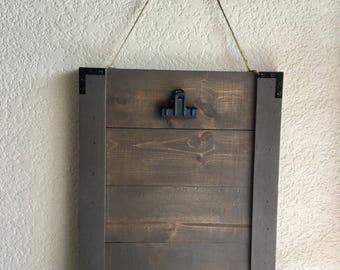 Planked 8X10 Hanging Frame
