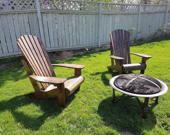Vintage Brown*Adirondack Chair