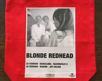 Blonde Redhead Library/Grocery Tote